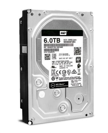 HDD intern Western Digital WD6003FZBX 6Tb